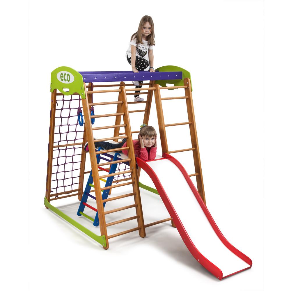 Детский спортивный комплекс для дома  «Карапуз Plus 2»