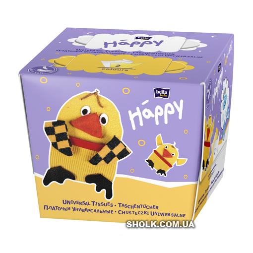 Бумажные платочки Bella Baby Happy Детские 40 + 40 шт