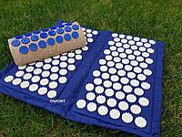 Набор коврик акупунктурный массажный складной + подушка Аппликатор Кузнецова (n-0004)