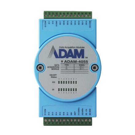 ADAM-4055-BE Модуль с 16 изолированными каналами дискретного ввода/вывода с Modbus
