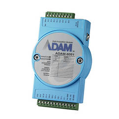 16-канальный модуль цифрового ввода/вывода с двумя счетчиками