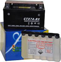 Свинцово-кислотный аккумулятор на 12V/4Ah обслуживаемый