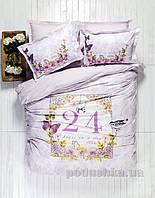 Постельное белье Karaca History лиловый Полуторный комплект