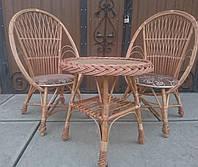 Садовая плетеная мебель на 2 человека, фото 1