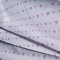"""Ткань Ранфорс """"Сердечки на белом"""" 220, фото 1"""