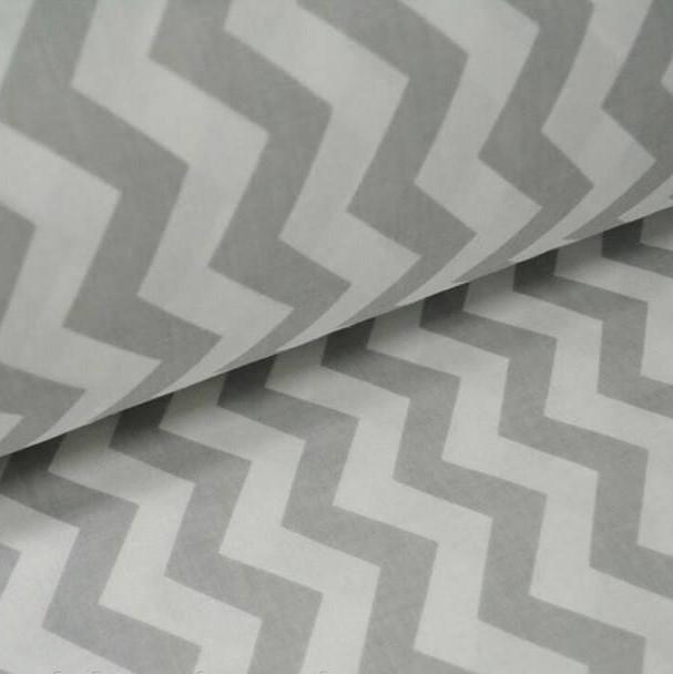 ткань ранфорс зигзаг серый, ранфорс, ранфорс для постельного белья