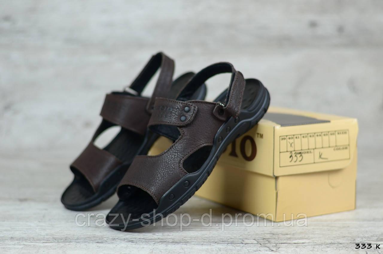 Мужские кожаные сандалии Cardio ► Размеры [40,41,42,43]