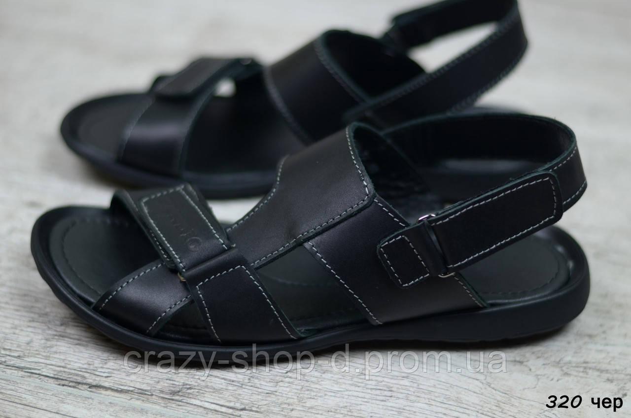 Мужские кожаные сандалии Cardio (Реплика) Размеры ► [40,41]