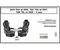 ORKO.К-кт чехлов MAN ТGA от 2000,ТGX,ТGM,ТGL