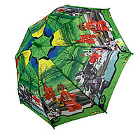 "Детский зонтик для мальчиков Flagman ""Лего Ниндзяго"", 017-1"