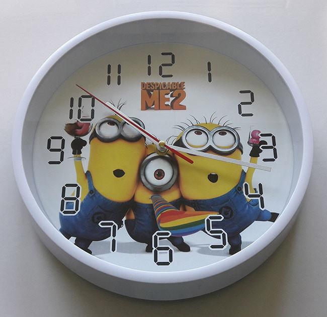 О пользе детских настенных часов