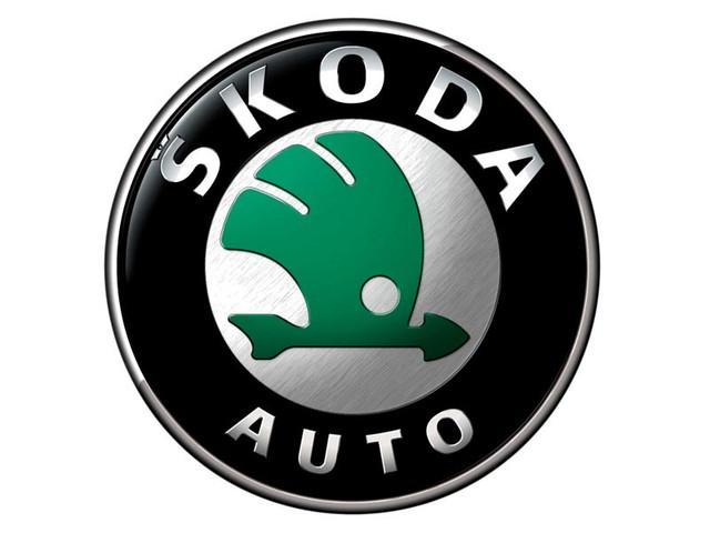 Хром накладки на фары для Skoda