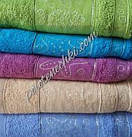 Махровое лицевое полотенце Морской мир, фото 1