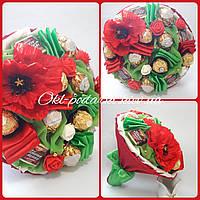 Букет из конфет Маки, фото 1