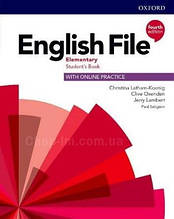 English File Fourth Edition Elementary Student's Book with Online Practice / Учебник