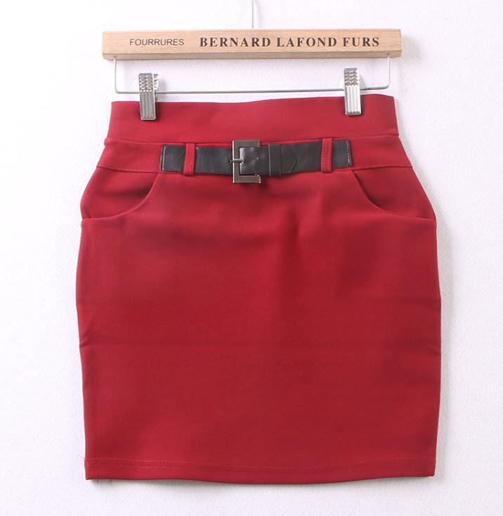 Стильная элегантная стрейчевая юбка