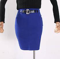 Стильная элегантная стрейчевая юбка, фото 3