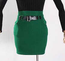 Стильная элегантная стрейчевая юбка, фото 2