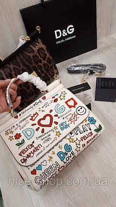 Сумка Dolce&Gabbana, кожа, фото 2