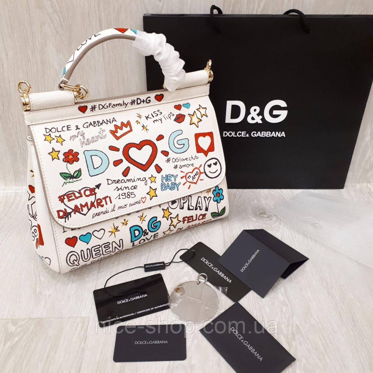 Сумка Dolce&Gabbana, кожа
