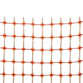АВАРИЙНОЕ ОГРАЖДЕНИЕ BARRIER NET 100 г/м², 85х42мм, 1х30м. оранж.
