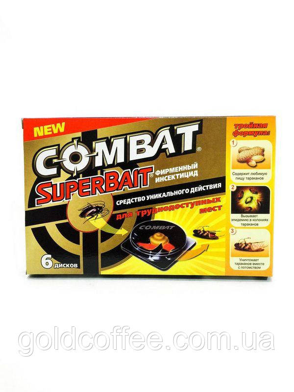 Ловушки от тараканов Combat, 6 шт/уп. ОРИГИНАЛ!