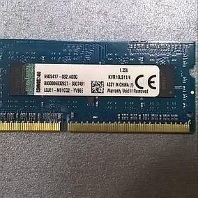 Оперативная память Kingston (KVR16LS11/14) 1.35V, фото 2