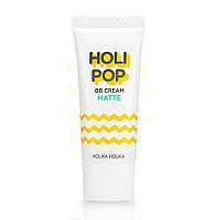 Матирующий ВВ-крем Holika Holika Holi Pop BB Cream Matte SPF30 PA++ 30мл (8806334372521)
