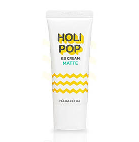 Матуючий ВВ-крем для обличчя Holika Holika Holi Pop BB Cream Matte SPF30 PA ++ 30мл (8806334372521)