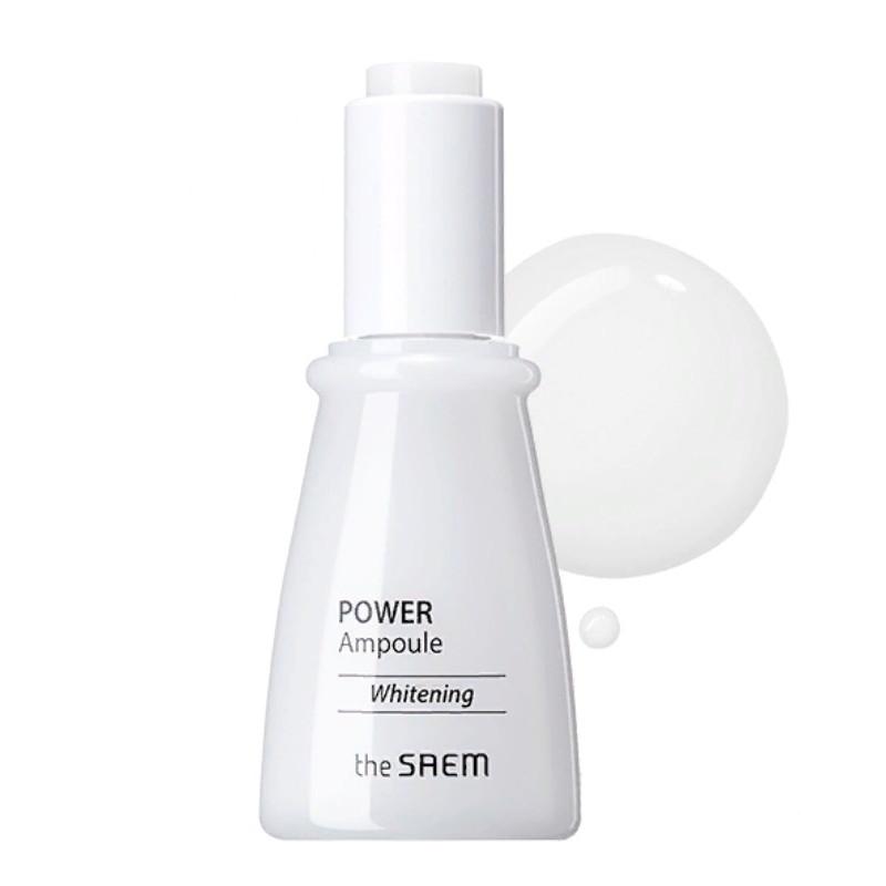 Ампульна освітлююча есенція для обличчя The Saem Power Ampoule Whitening 35 мл (8806164152584)
