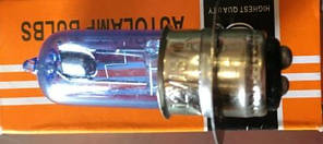 Лампа галоген P15d-1 18/18w (1усик)