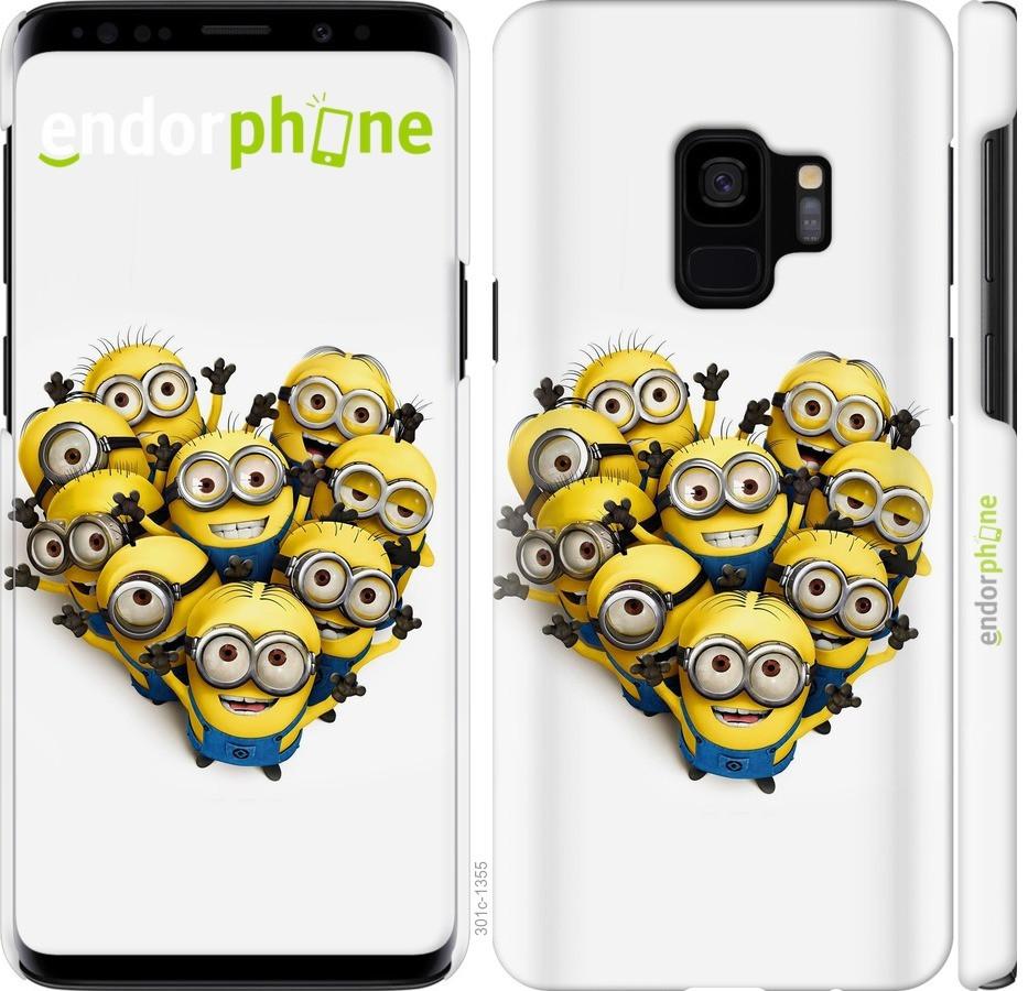 Чехол для телефона Samsung Galaxy S9 миньйоны 2