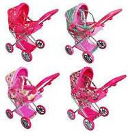 Детская коляска для кукол мелого melogo 9346