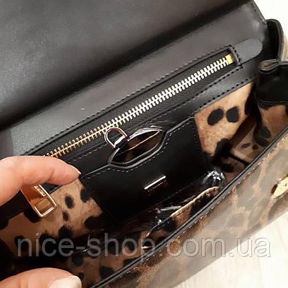 Сумка Dolce&Gabbana, кожа, фото 3