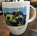 Оригинальная фарфоровая кружка Volkswagen Mug Beetle, Pop-Art-Style V2, White (311069601), фото 3