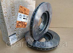 Диск гальмівний передній вентильований Renault Duster 1.5 DCi, 1.6 16V (4x2)(оригінал)