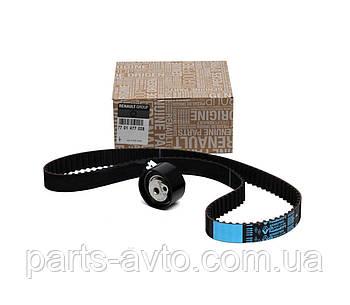 Ремінь+ролик ГРМ ( комплект ) Logan, MCV, VAN 1.5 DCI. ОРИГІНАЛ Renault 7701477028