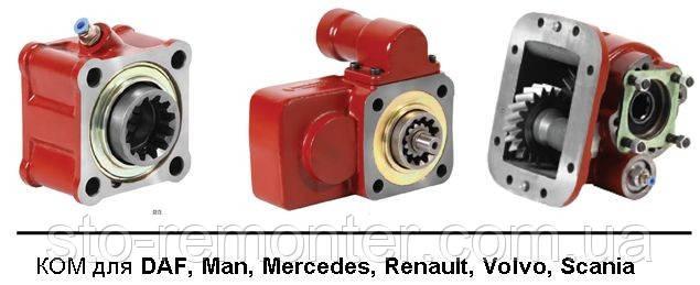 Коробки отбора мощности (ZF, Eaton, G, SR, GRS), коробка отбора мощности продажа