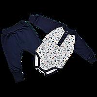 Комплект для новорожденных  футер пенье Норвегия, Размер детской одежды 80