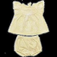 Костюм для девочки с шортиками Одуванчик, Размер детской одежды 80