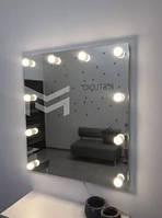 Подвесное зеркало с подсветкой FONS без рамы 90х90 см, фото 1