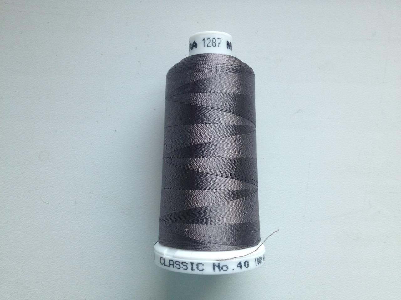 Нитки для машинной вышивки   Madeira Classic №40.  цвет 1287.  1000 м