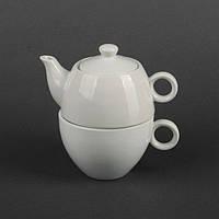 Набор чайный 2 предмета: чайник 350 мл + чашка 200 мл