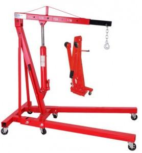 Кран гидравлический складной 2000 кг