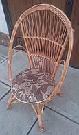 Кресло плетеное маленькое из лозы