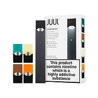 Электронная сигарета Джул Starter Kit с 4-мя подами Black