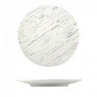 Тарелка мелкая светлый камень 310х300 мм
