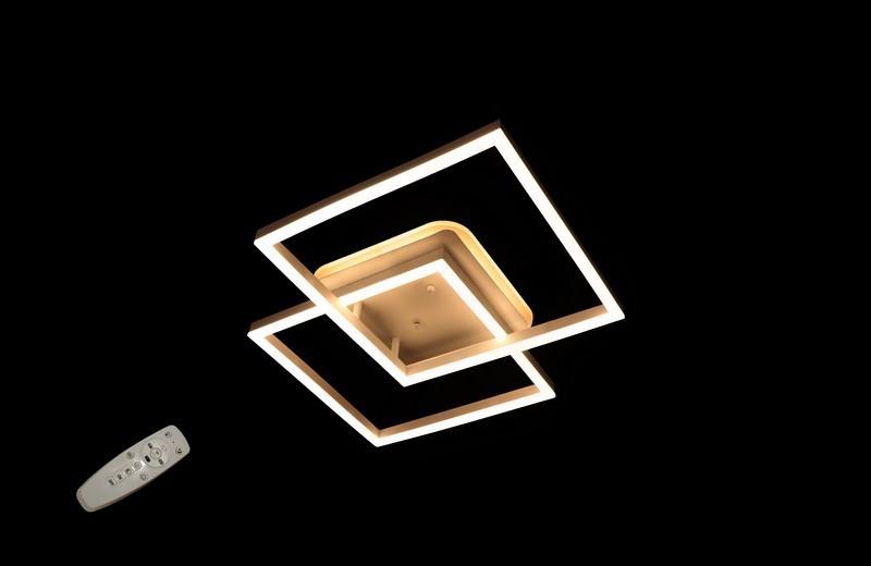 Невелика світлодіодна яскрава люстра 2001-2A WH