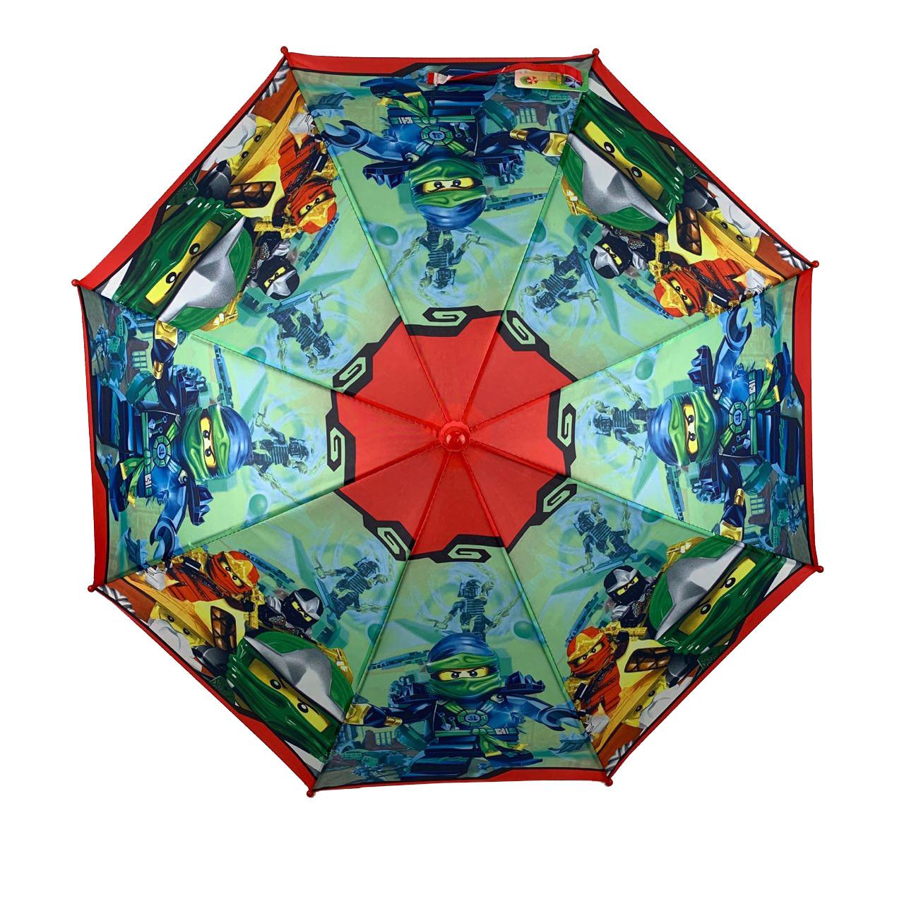 """Детский зонтик для мальчиков Flagman """"Лего Ниндзяго"""" с ..."""