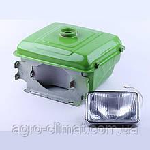 Бак топливный + фара двигателя (1GZ90) R190N( выступающая горловина)